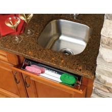 """Rev-A-Shelf - 6541-22-52 - 22"""" Stainless Sink Front Tray"""