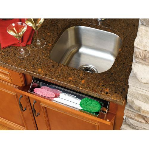"""Rev-A-Shelf - 6581-11-52 - 11-1/4"""" Stainless Sink Front Tray"""
