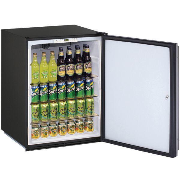 "U-Line24"" Refrigerator With Stainless Solid Finish (115 V/60 Hz Volts /60 Hz Hz)"