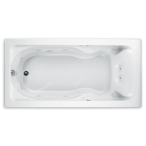 Cadet 72x36 inch EverClean Whirlpool - White
