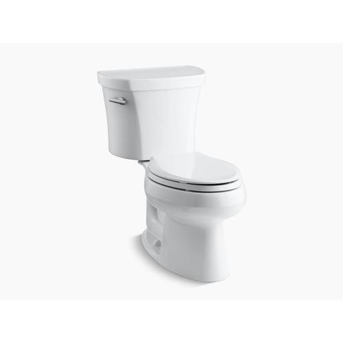 """Kohler - Black Black Two-piece Elongated 1.28 Gpf Toilet With 14"""" Rough-in"""