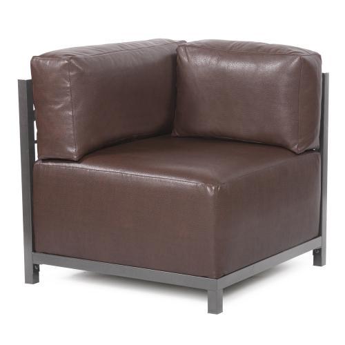 Axis Corner Chair Avanti Pecan Titanium Frame