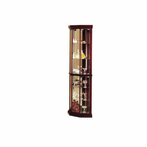 ACME Huxley Corner Curio Cabinet - 02347 - Cherry