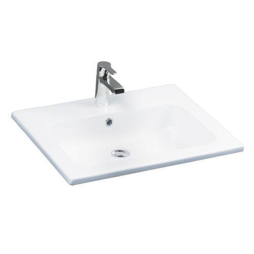 "Cilla 24"" Drop-In Wash Basin - Single-Hole"