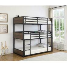 T / T / T Triple Bunk Bed