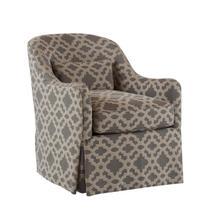 Karan Skirted Swivel Chair