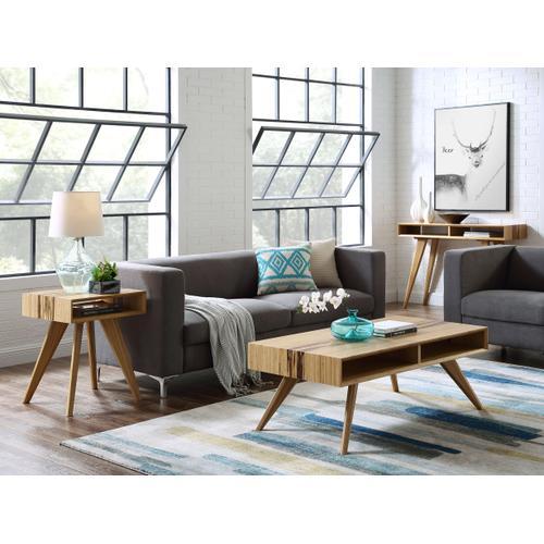 Greenington Fine Bamboo Furniture - Azara End Table, Caramelized