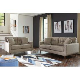 Dahra Sofa & Loveseat Jute