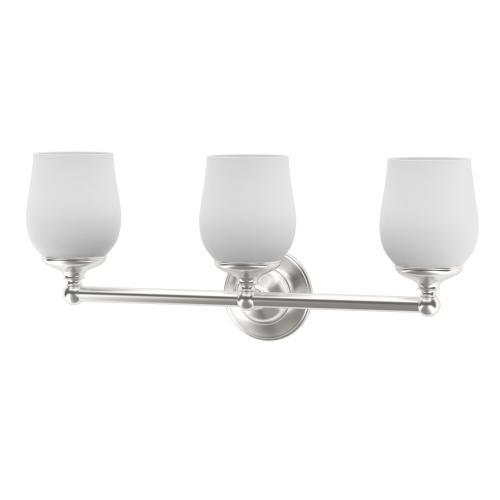 Oldenburg Lighting Sconces in Satin Nickel