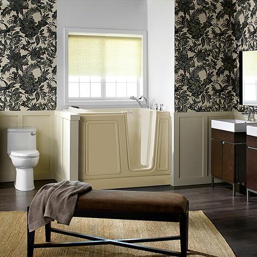Acyrlic Luxury Series 30x51 Walk-in Tub Right Drain  American Standard - Linen