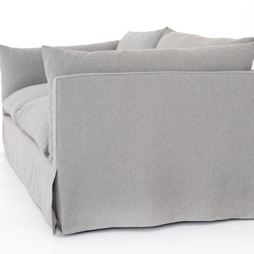"""90"""" Size Vesuvio Dove Cover Habitat Sofa"""