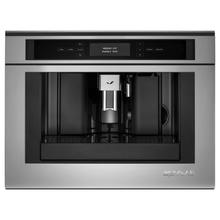 """See Details - Euro-Style 24"""" Built-In Coffee System Stainless Steel"""