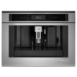 """Jenn-AirEuro-Style 24"""" Built-In Coffee System Stainless Steel"""