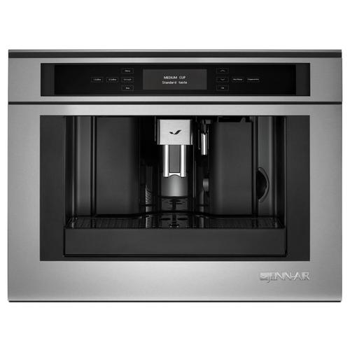 """JennAir - Euro-Style 24"""" Built-In Coffee System Stainless Steel"""