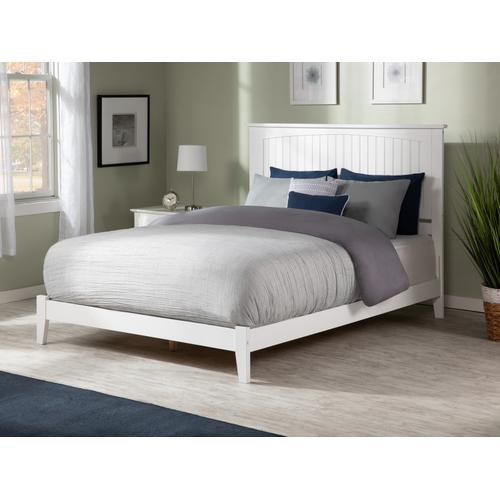 Nantucket Queen Bed in White