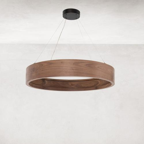 Small Size Baum Chandelier - Dark Walnut