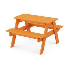 View Product - Kids Picnic Table in Tangerine