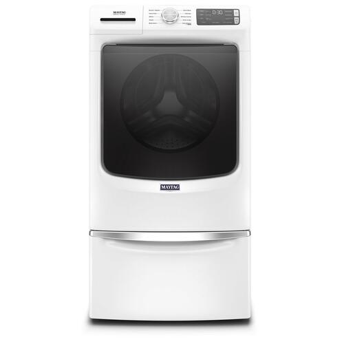 Product Image - Front Load Washer with Extra Power and 12-Hr Fresh Spin option - 5.2 cu. ft.