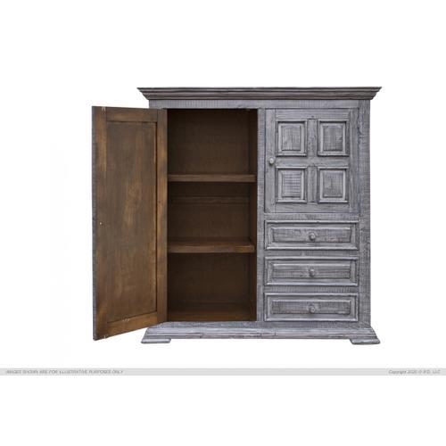 3 Drawers, 2 Doors Gentleman's Chest