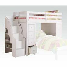 ACME Freya Loft Bed & Bookcase Ladder - 37145_KIT - White