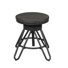 See Details - Round Stool, Adjustable Height