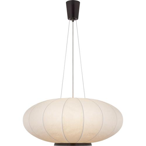 Barbara Barry Moon 1 Light 36 inch Bronze Hanging Shade Ceiling Light, Large