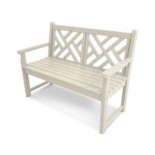 """Sand Chippendale 48"""" Bench"""