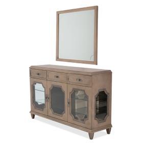 Sideboard W/wall Mirror (2pc)