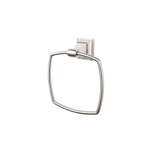 Top Knobs - Stratton Bath Ring - Brushed Satin Nickel