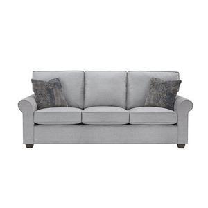 3 Cushion Sofa - Shown in 114-08 Gray Finish