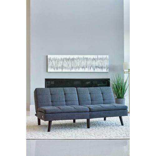 Sofa Bed W/ Outlet