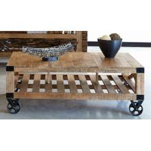 Industrial Natural Mango Coffee Table