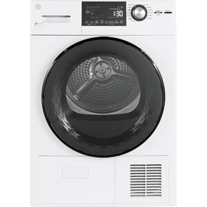 "GEGE® 24"" 4.1 Cu.Ft. Front Load Ventless Condenser Electric Dryer with Stainless Steel Basket"