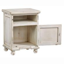 See Details - Nightstand - Antique White Finish