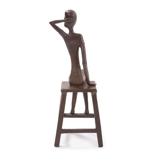 Howard Elliott - Sitting Beauty Aluminium Sculpture