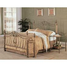 Sydney Traditional Antique Brushed Eastern King Bed