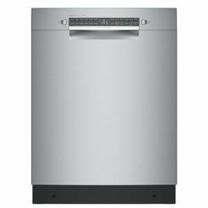 Bosch800 Series Dishwasher 24'' stainless steel SGE78B55UC