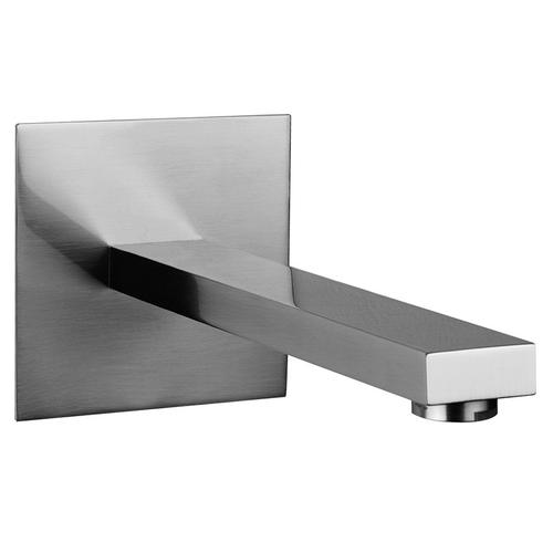 """Gessi - Wall-mounted washbasin spout only Projection 7-3/4"""" 1/2"""" connections Drain not included - See DRAINS section Requires mixer control 26505, 26609+26612, 26705, or 26809+26812 Max flow rate 1"""