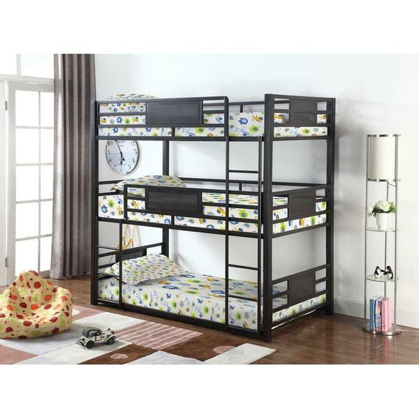 See Details - F / F / F Triple Bunk Bed