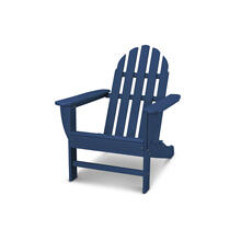Navy Classic Adirondack Chair