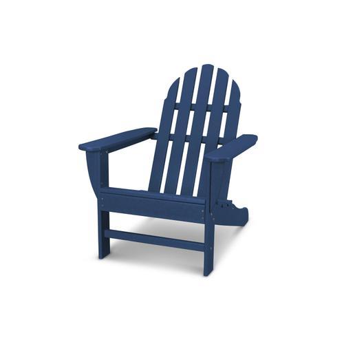 Navy Classic Adirondack Chair