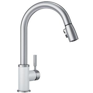 Sonoma With Pull-down Spray (2.2GPM) - White
