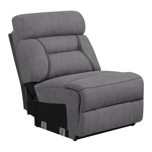 See Details - Camargue Grey Reclining Power Sectional