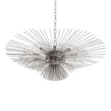 Be Thinking of the #hashtag for This Chandelier Because Your Dinner Guests Will Not Be Able To Stop Sharing It Online! Inspired By the Magical Sea Urchin, This Spectacular Pendant Takes Center Stage In Your Grand Foyer or Dining Room. Finished In Polished Nickel With A 6' Chain and Canopy for Your Custom Installation.