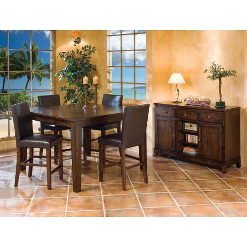 Intercon Furniture - Kona Parson's Stool  Raisin