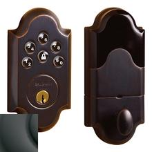 Oil-Rubbed Bronze Boulder AC Z-Wave Deadbolt