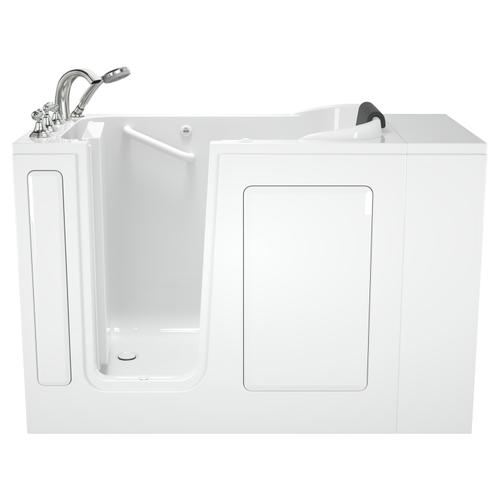 Premium Series 28x48 Whirlpool Walk-in Tub  Left Drain  American Standard - White