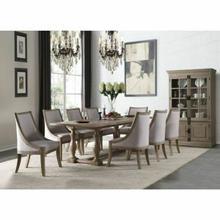 ACME Eleonore Dining Table - 61300 - Weathered Oak