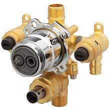 New - Treysta® Tub & Shower Valve W/ Diverter- Vertical Inputs With Stops- Cold Expansion Pex