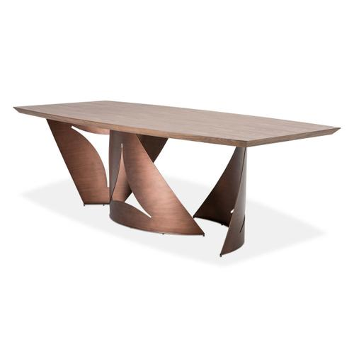 Parallel Rectangular Dining Table